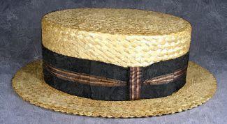 Соломенные шляпы для девочек