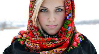 Как правильно носить платок на голове
