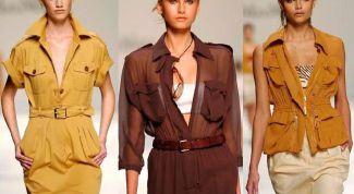 Модный тренд - как одеться в стиле Сафари