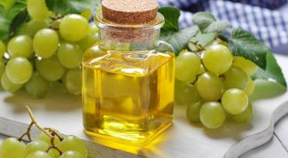 The grape seed oil for beauty