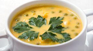 Как приготовить гороховый суп-пюре с копченостями