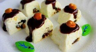 Десертные роллы из творога