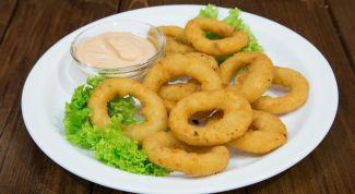 Как приготовить ароматные луковые кольца