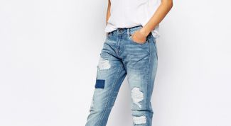 What a girl to wear boyfriend jeans