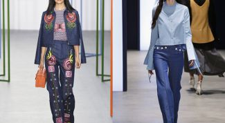 Jeans are always popular. The trend of the past