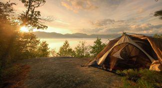 Как начинающему туристу выбрать палатку