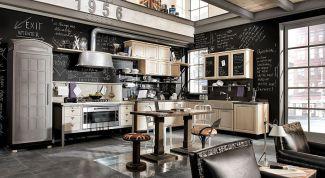 Interior for small kitchen