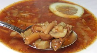 Как приготовить солянку с грибами и мясом