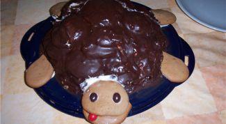 Необычный торт «Черепаха»