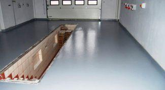 Как залить бетонный пол в гараже