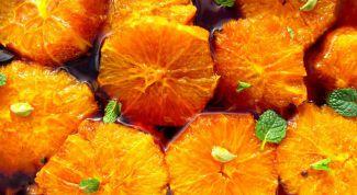 Салат из свежих апельсинов