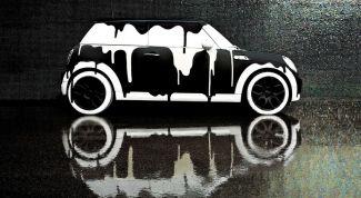 Устранение потеков после покраски автомобиля