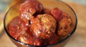 Овощные индийские шарики в томатном соусе