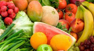 Особенности летних диет