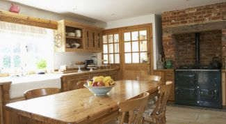 How to make a rustic kitchen