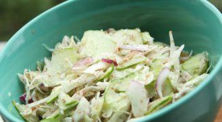 Простой салат для тонкой талии