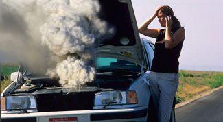 Что делать, если радиатор дал течь в пути