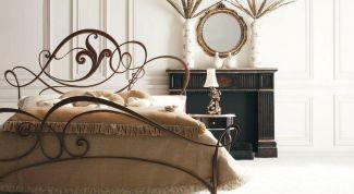 Достоинства и недостатки кованой кровати