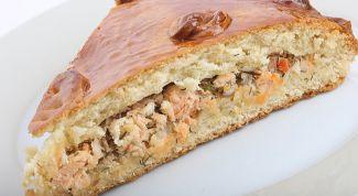 Как приготовить пирог из риса и рыбы