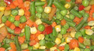 Домашняя заморозка овощей на зиму