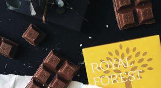 Шоколад без сахара от Royal Forest