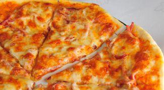 Пицца с копчёностями и сладким перцем