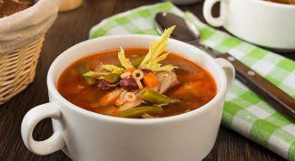 Как приготовить фасолевый суп с курицей