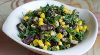 Овощной салат «Секрет с фантазией»
