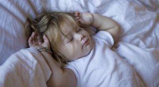 Учите чадо ночью спать