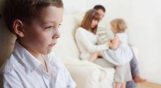 Появление второго ребенка в семье - помеха для первоклассника