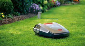 Робот-газонокосилка: упрощаем жизнь