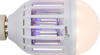 Энергосберегающая лампочка, убивающая насекомых