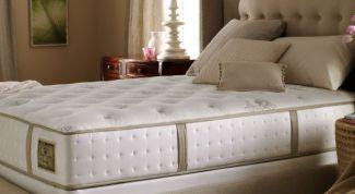 Как выбрать ортопедический матрас для кровати