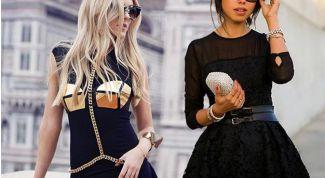Маленькое черное платье — вечная классика