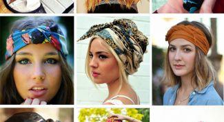 Шейный платок как деталь женственного образа