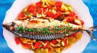 Как приготовить рыбу в эскабече