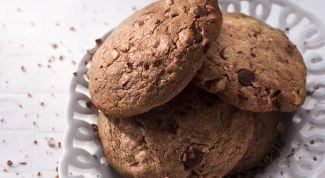 Как испечь печенье с орехами и шоколадом
