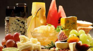 Самые интересные и изысканные сочетания сыра и фруктов
