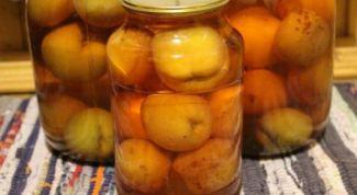 Как приготовить компот из персиков