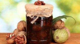 Как приготовить варенье из грецких орехов