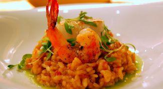 Как приготовить вкусное ризотто с морепродуктами