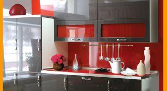 Как создать красный интерьер кухни