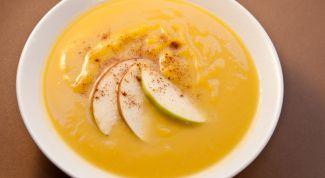 Медовый суп с абрикосами