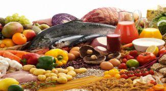 Правильное питание: основные положения