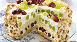 Торт «Виноградное поле»