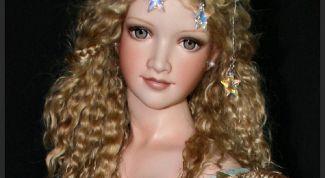 Как сделать волосы кукле с помощью клея