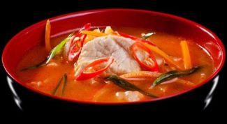 Кимчи-суп из свинины