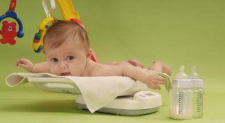 Норма прибавки веса у новорожденных по месяцам