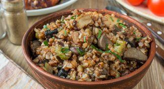 Как приготовить гречку с сухими грибами и говяжьей рулькой