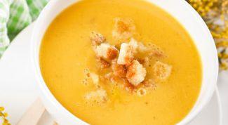 Идеальный суп-пюре из гороха